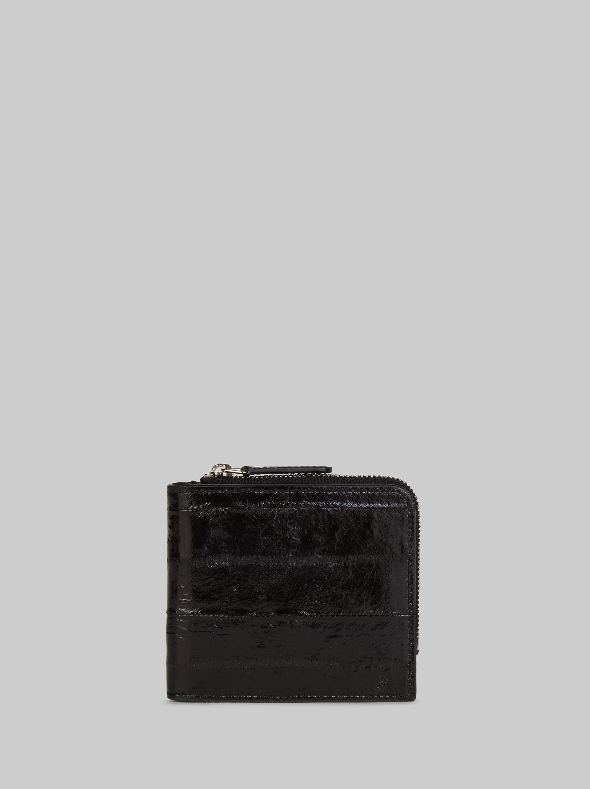 ZIPPED LEATHER WALLET