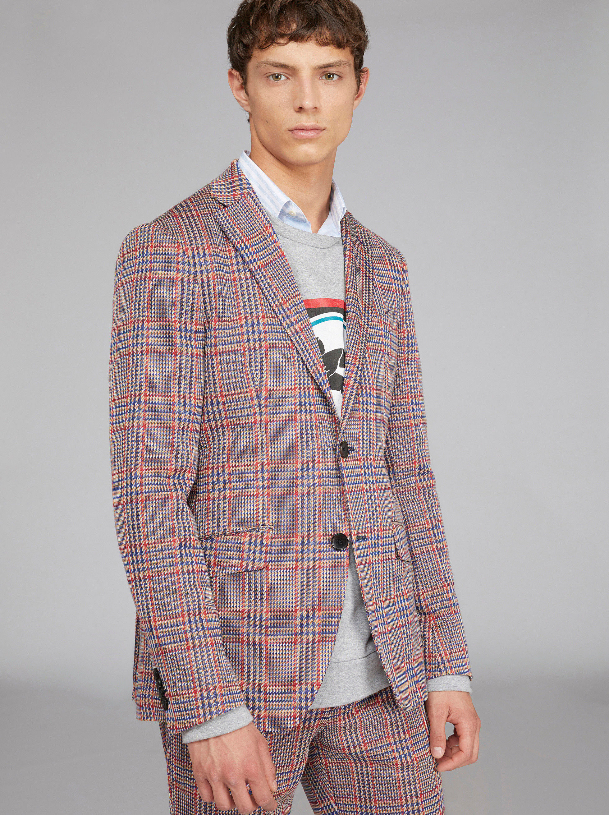 PRINCE OF WALES JERSEY JACKET