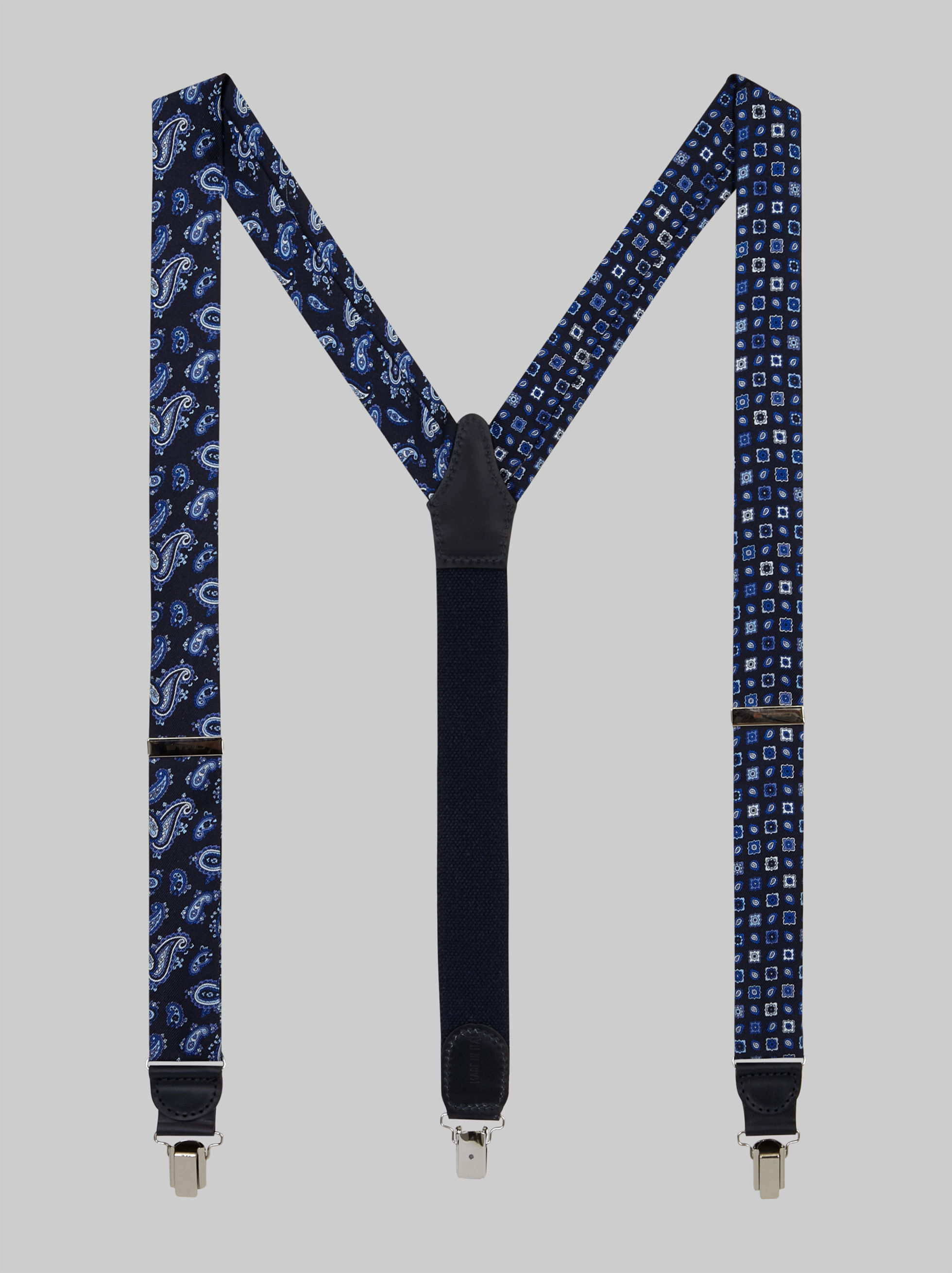 TWO-FABRIC BRACES