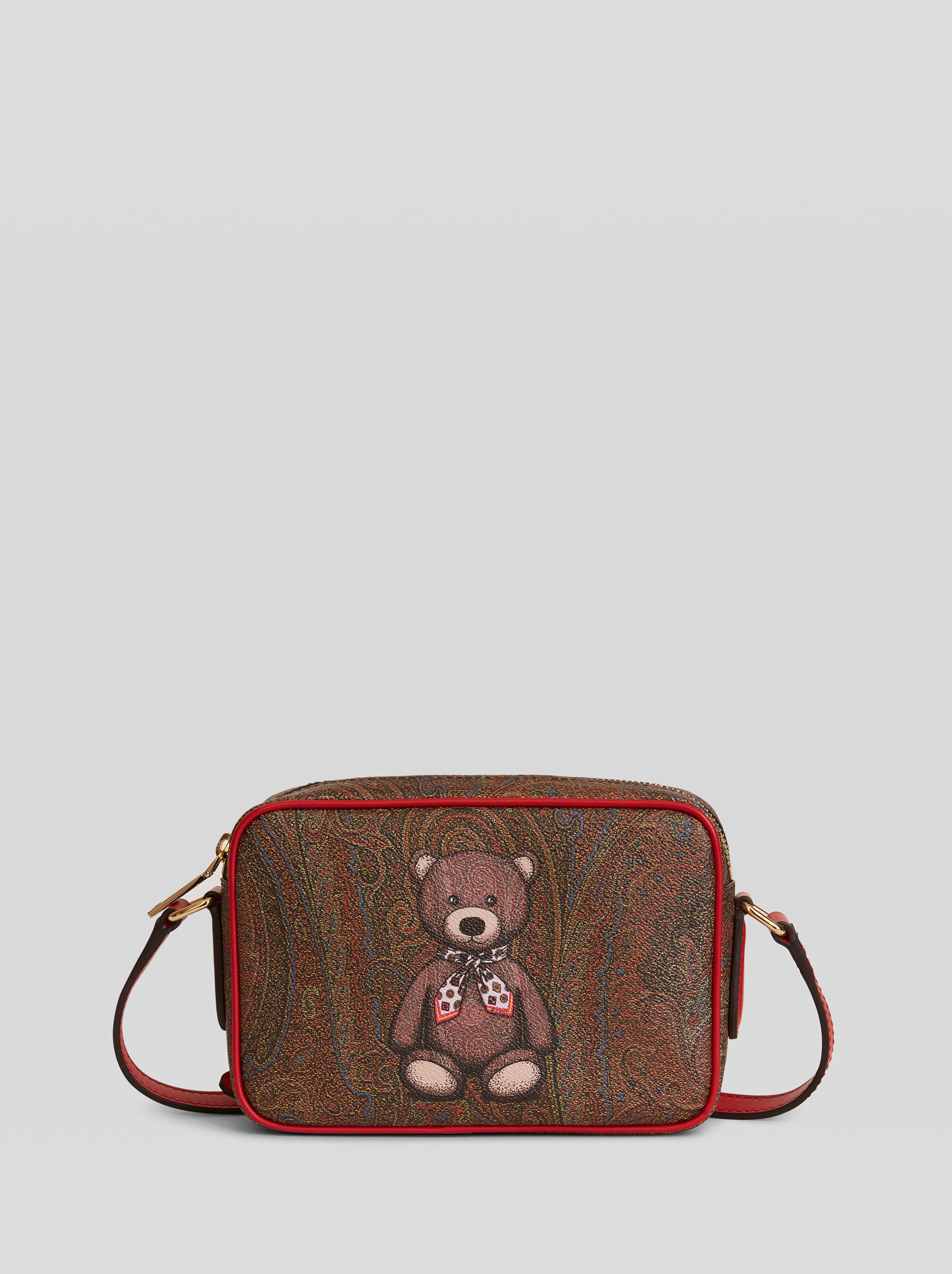TOY PRINT PAISLEY SHOULDER BAG
