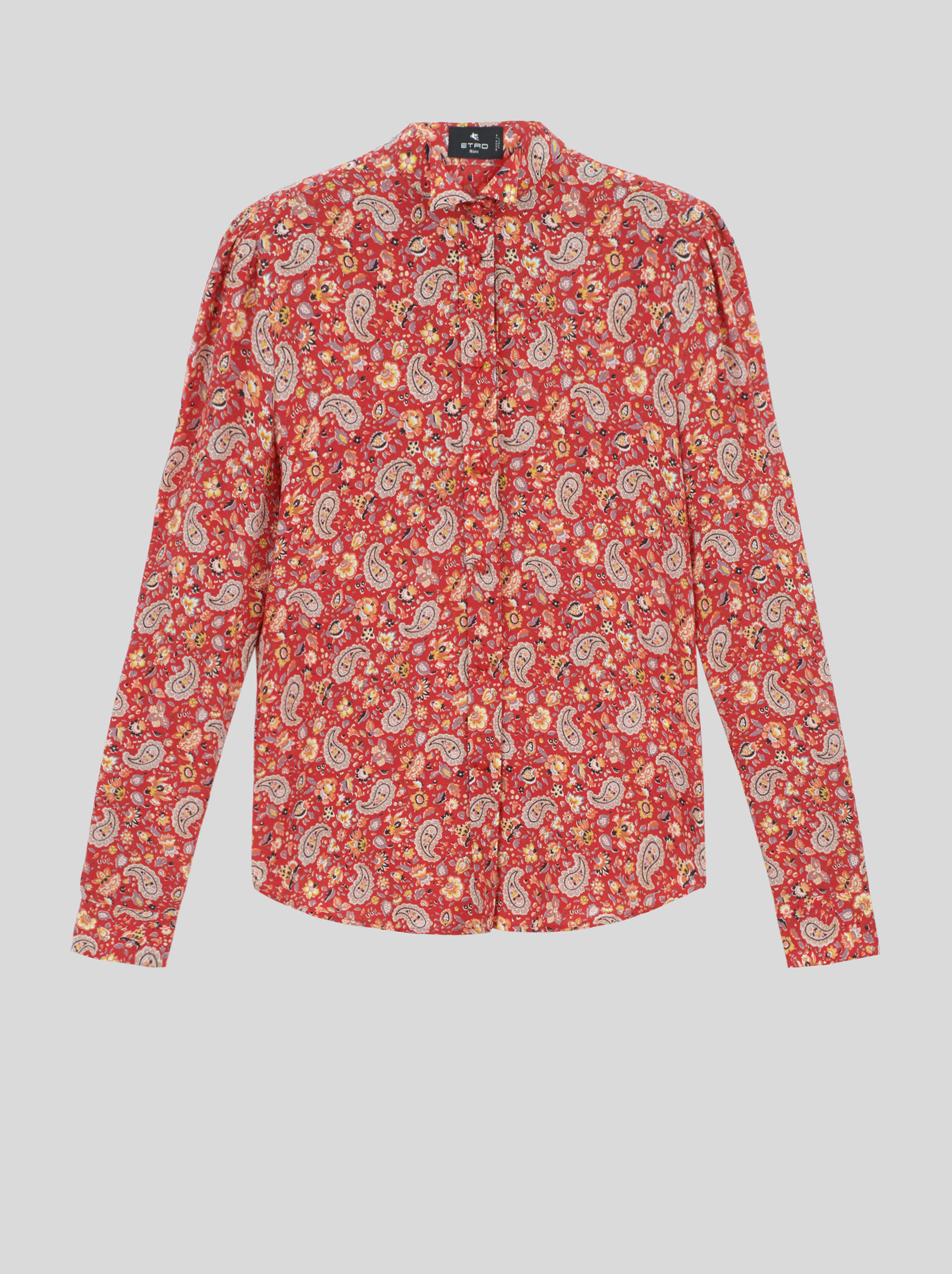 PAISLEY SILK SHIRT