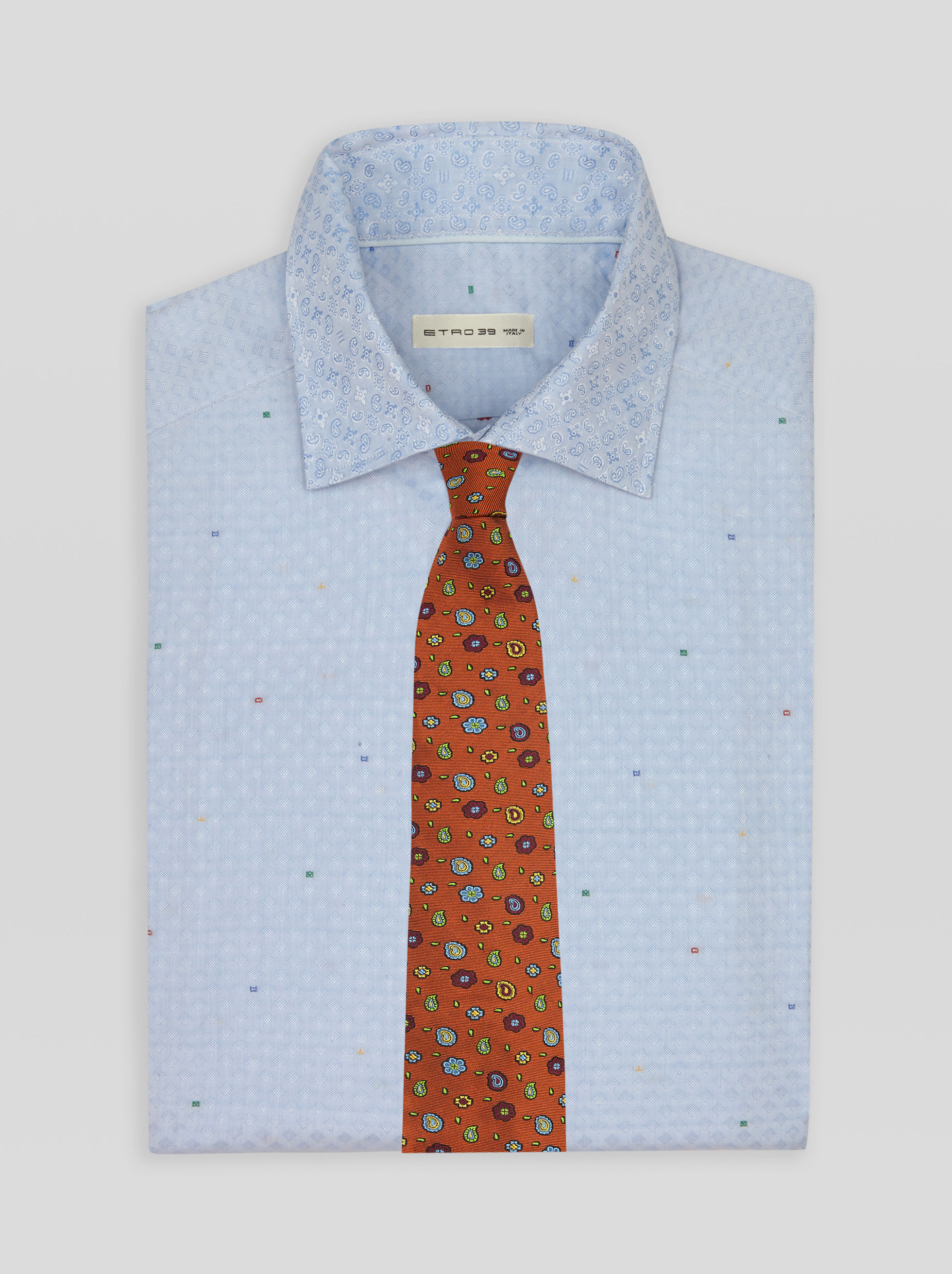 MICRO PATTERNED PAISLEY TIE