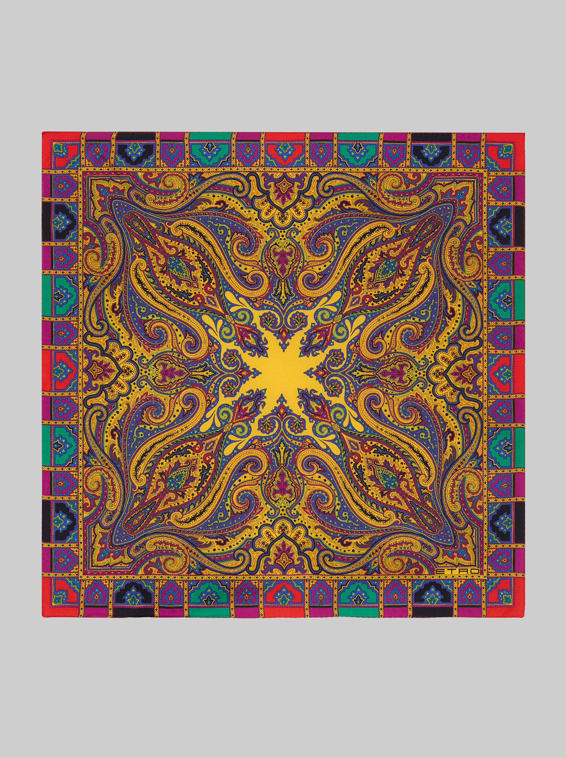 PAISLEY POCKET SQUARE