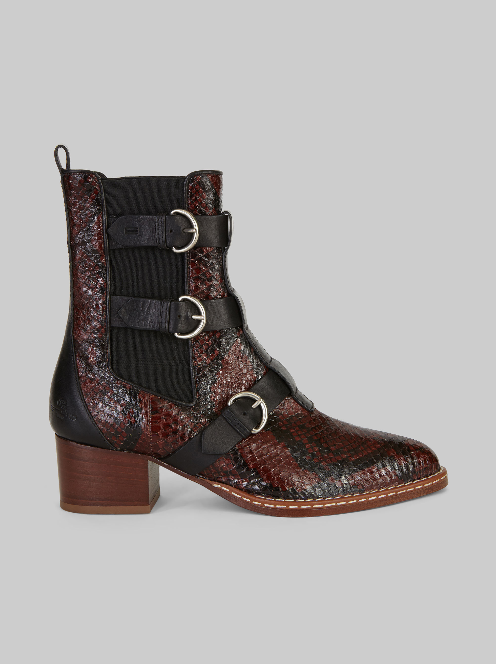 ANKLE BOOTS WITH BUCKLES