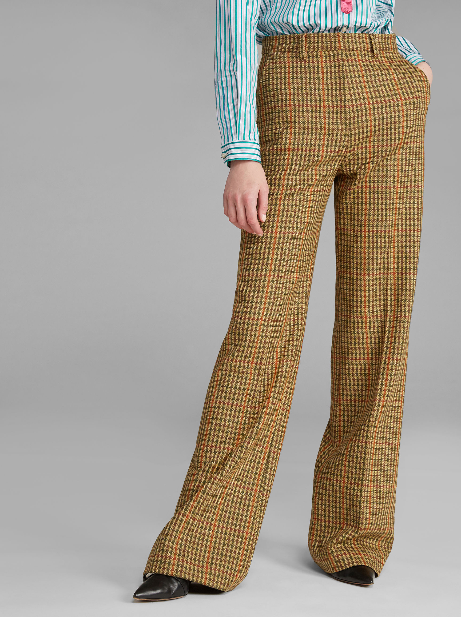 HOUNDSTOOTH TROUSERS