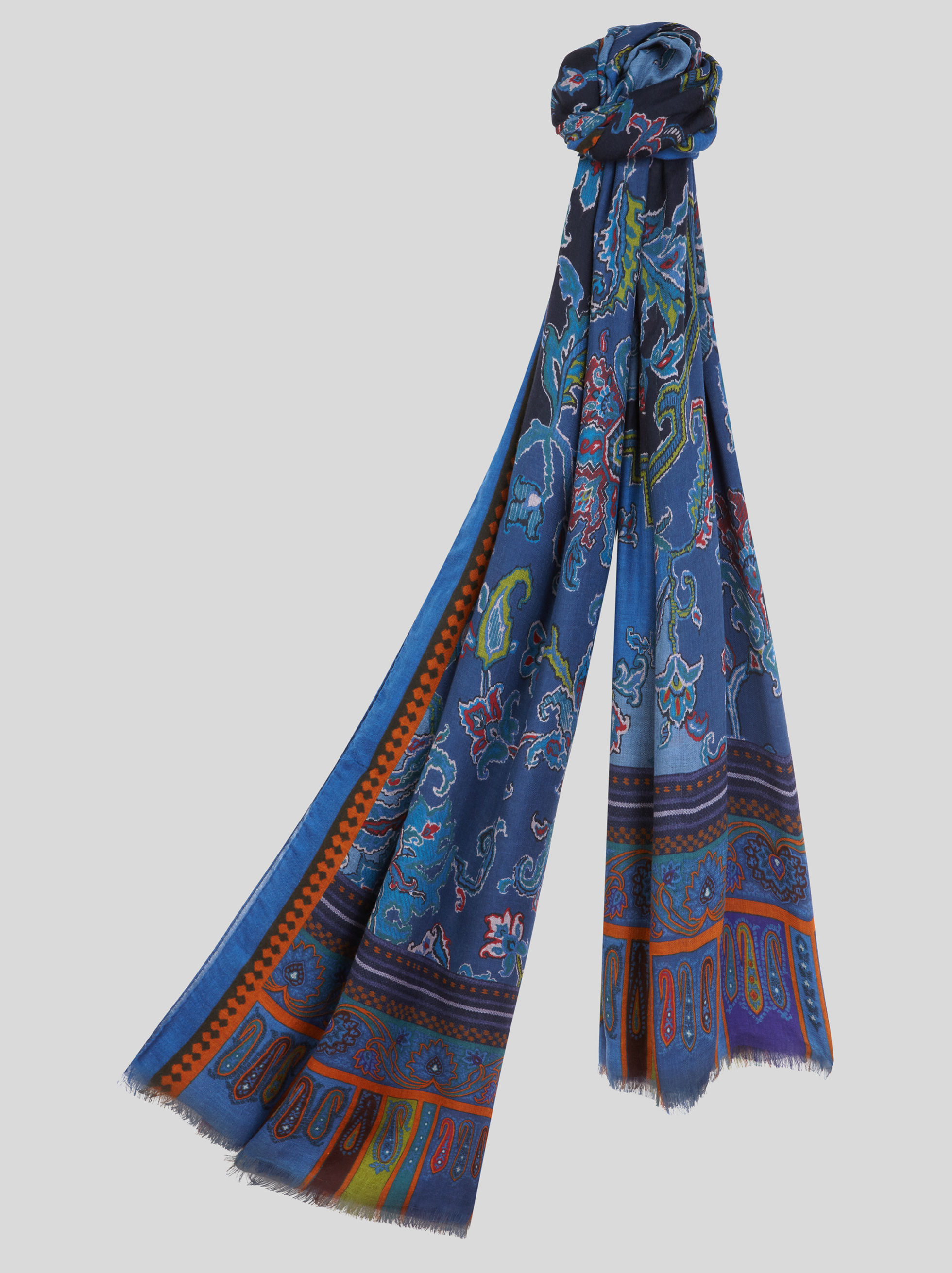MODAL AND CASHMERE SCARF