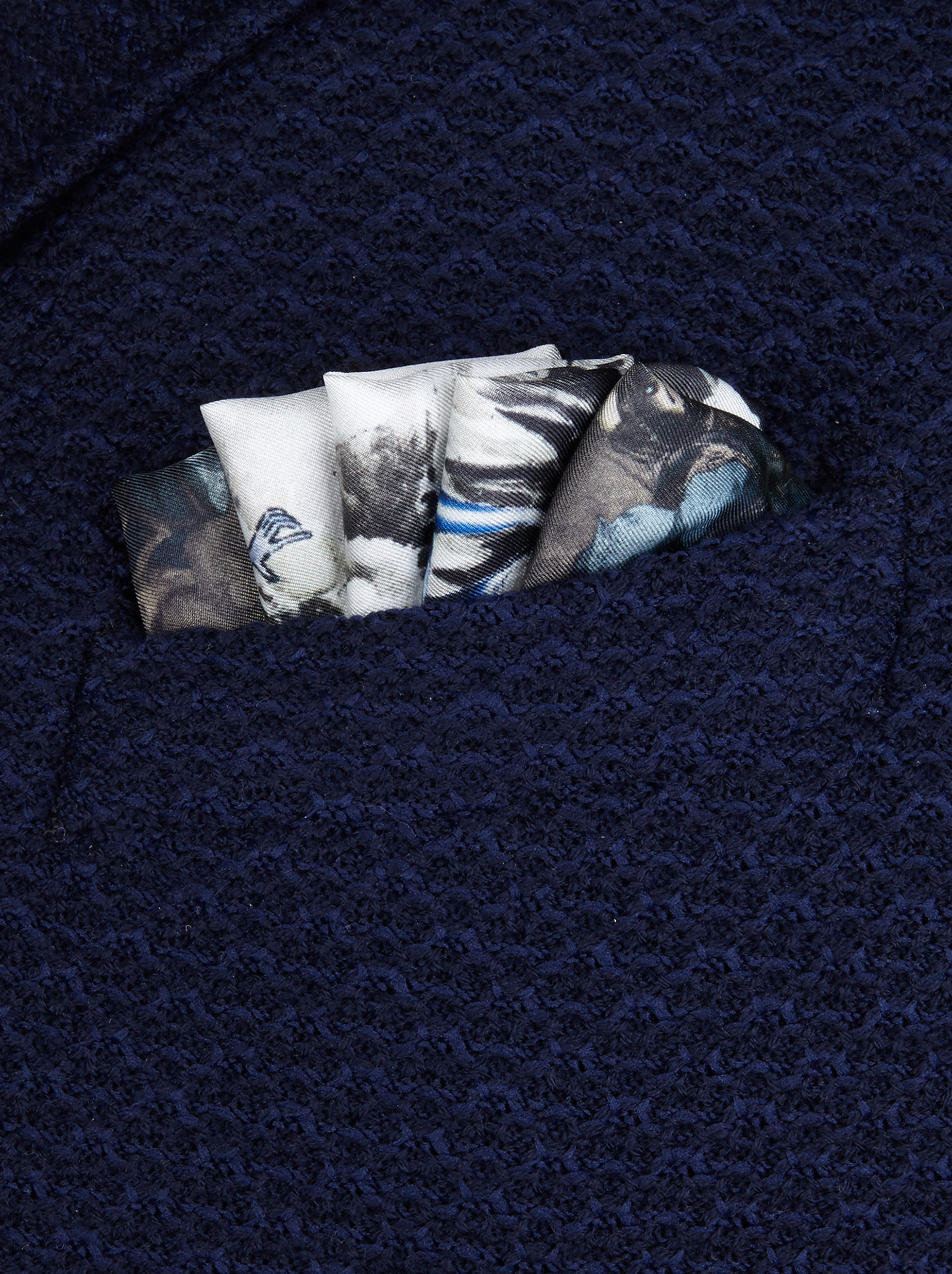 ENCHANTED FOREST-PRINT POCKET SQUARE