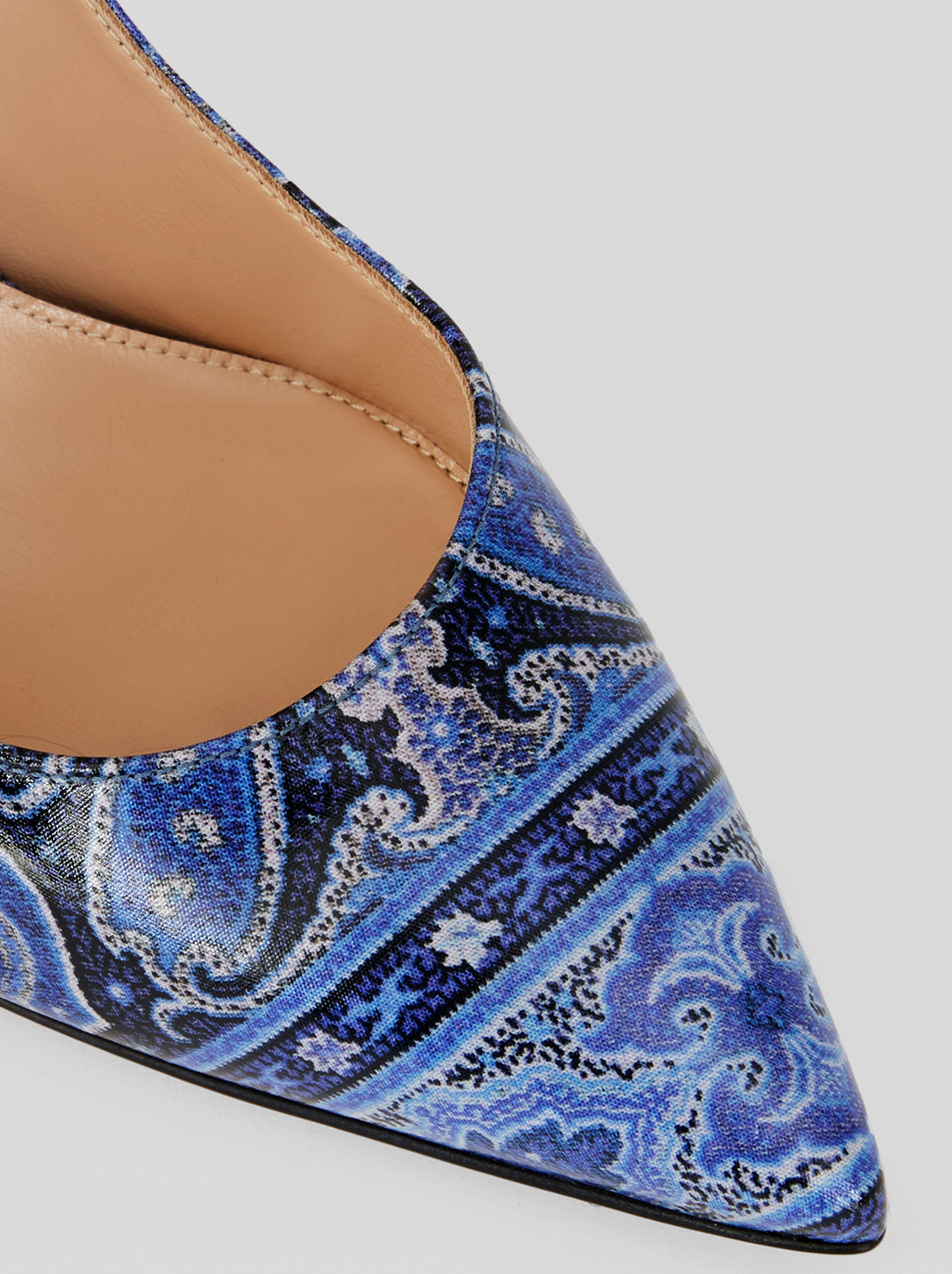 PAISLEY PRINT GIANVITO ROSSI COURT SHOES FOR ETRO
