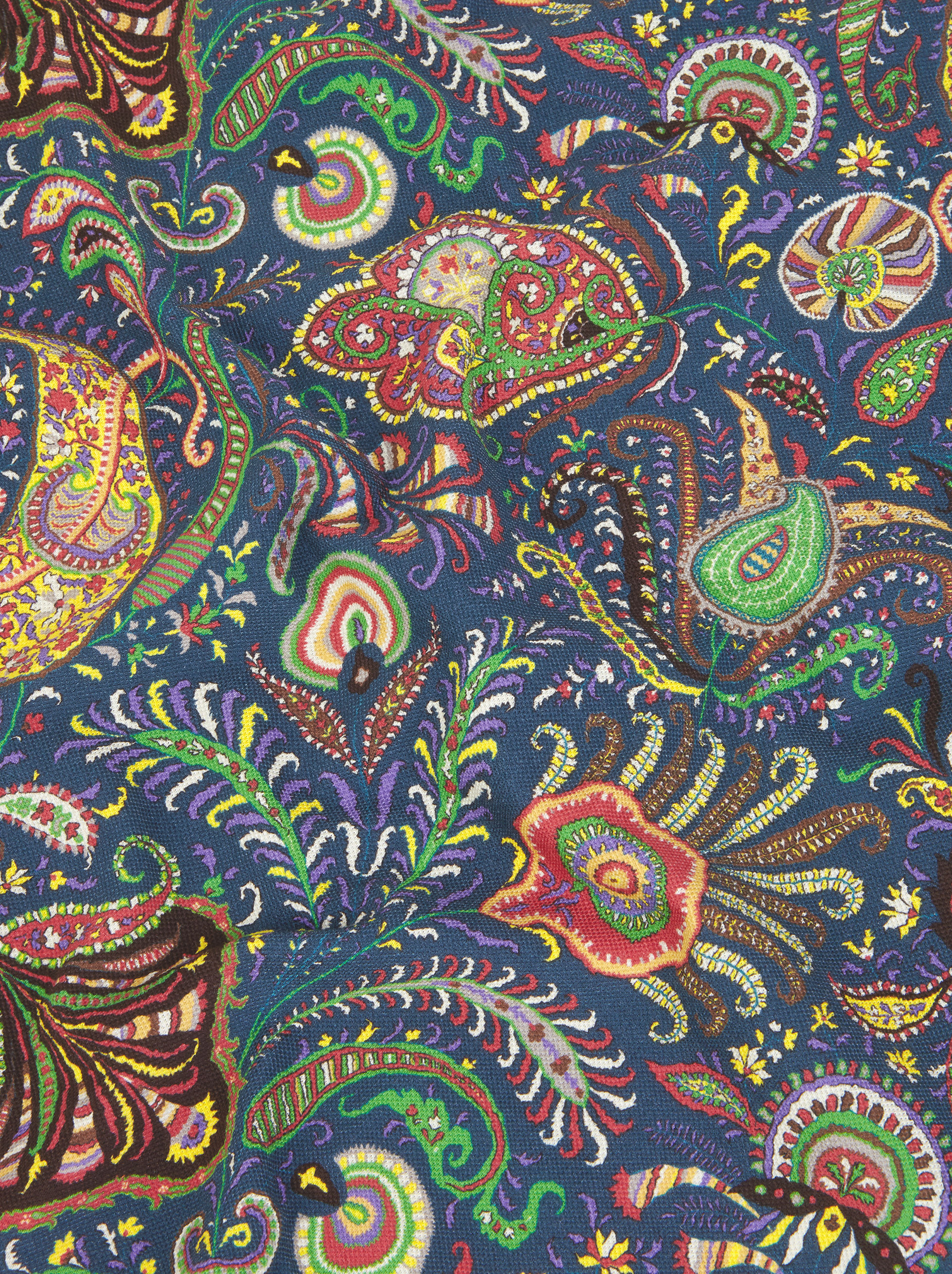 PAISLEY 装飾 ポロシャツ