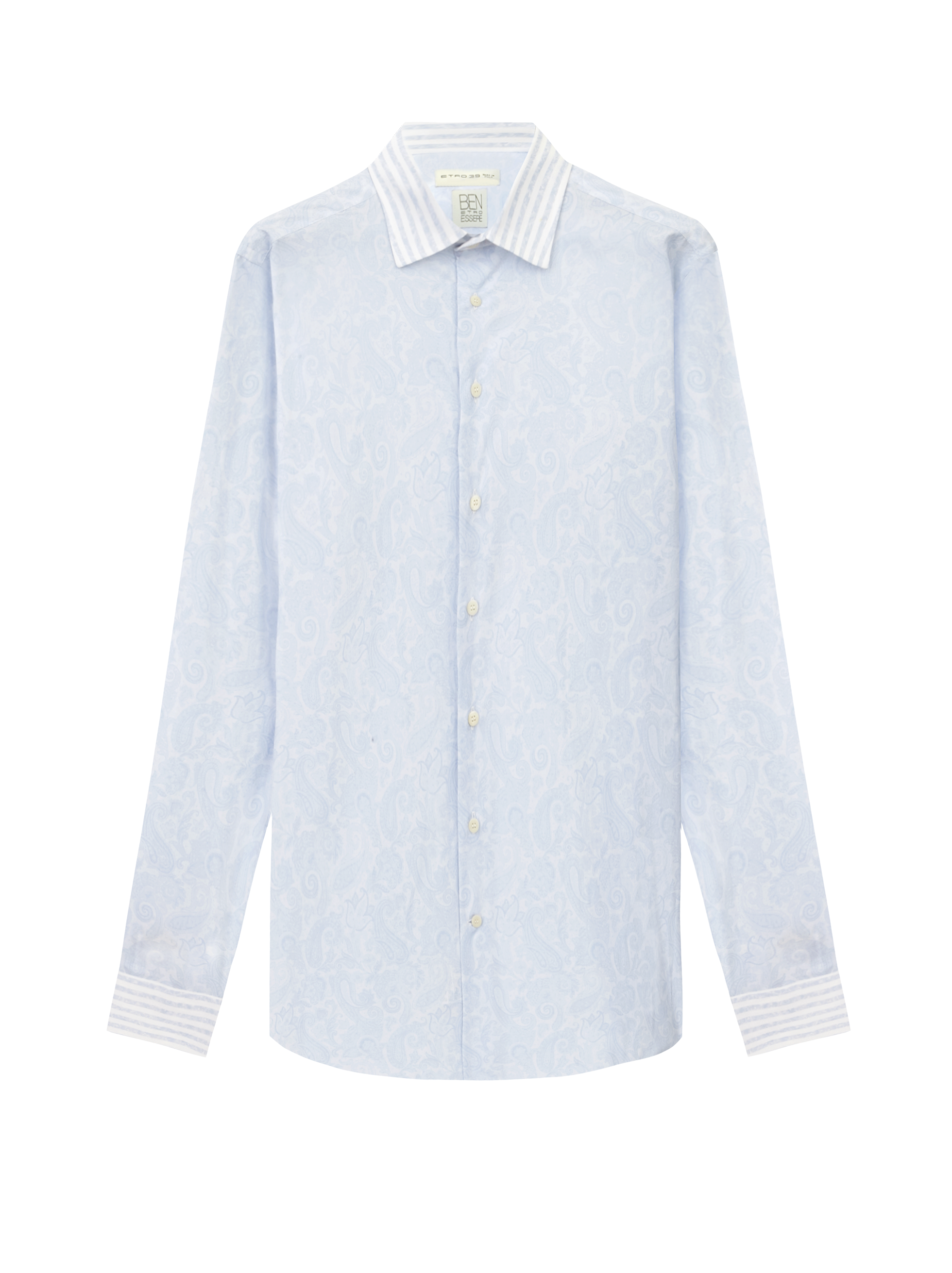 BENETROESSERE ORGANIC COTTON DUAL FABRIC SHIRT
