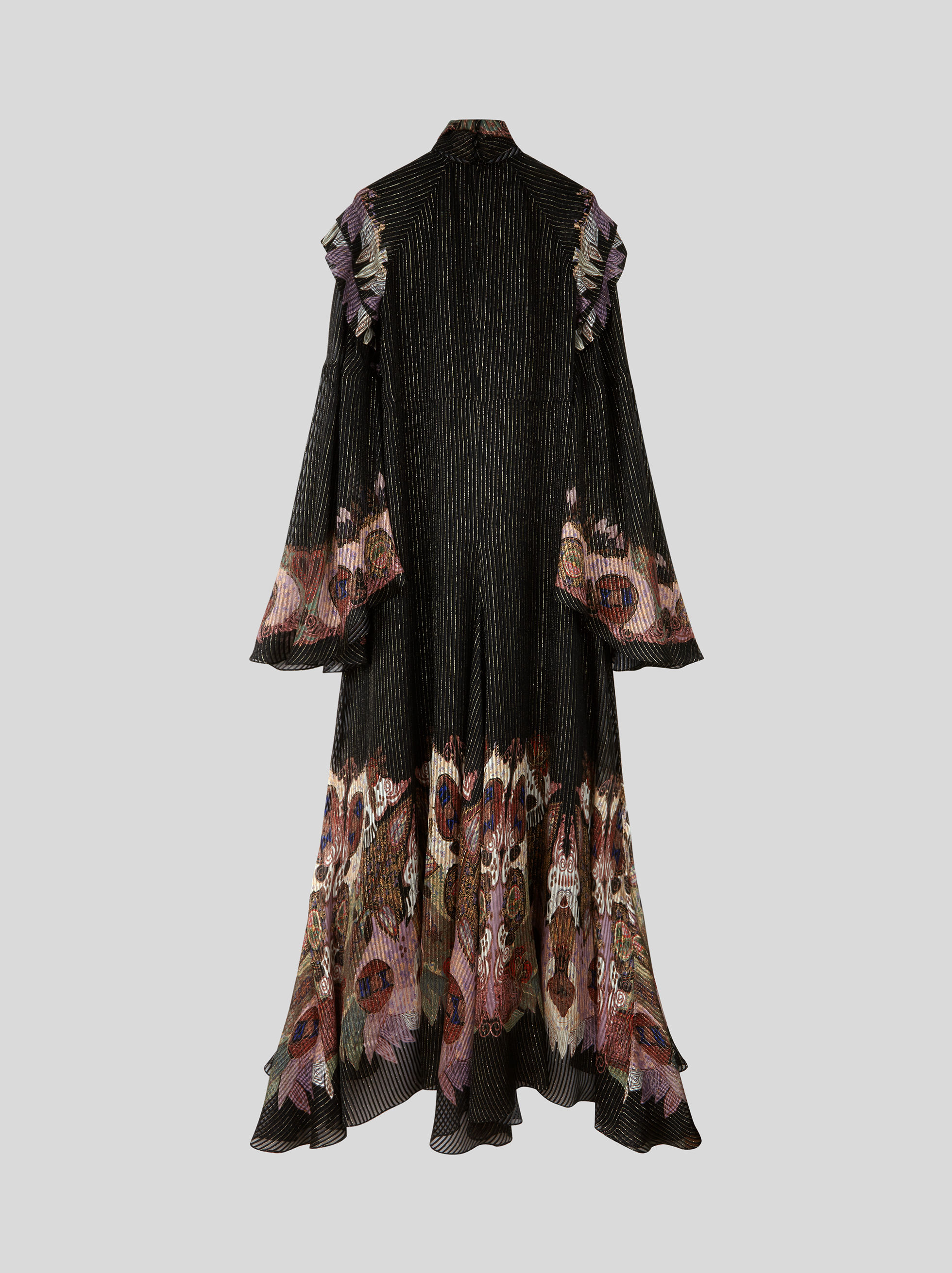 LONG PEKIN LUREX DRESS