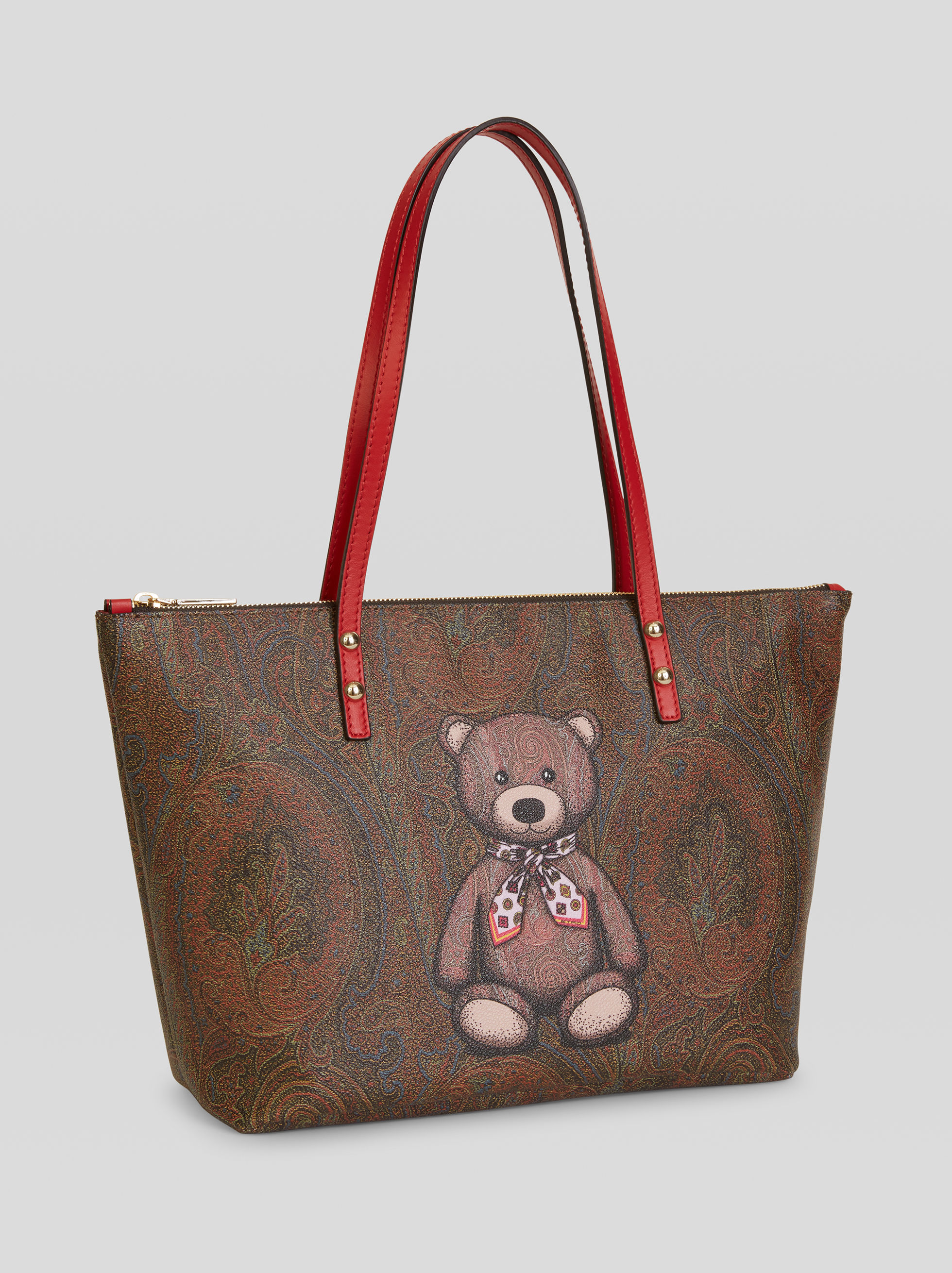BOLSO SHOPPING ESTAMPADO TOYS