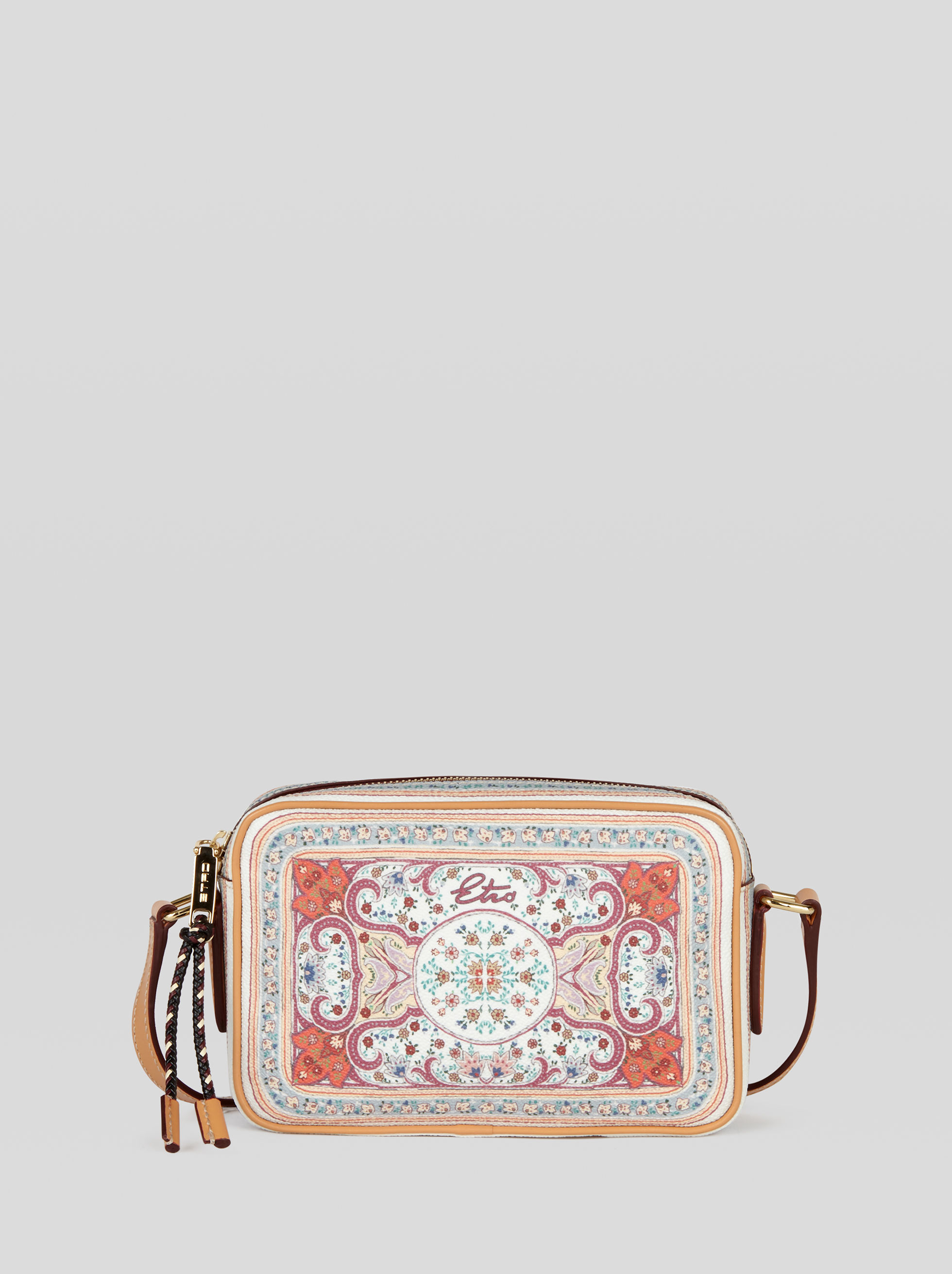CROSSBODY BAG WITH FLORAL PRINT