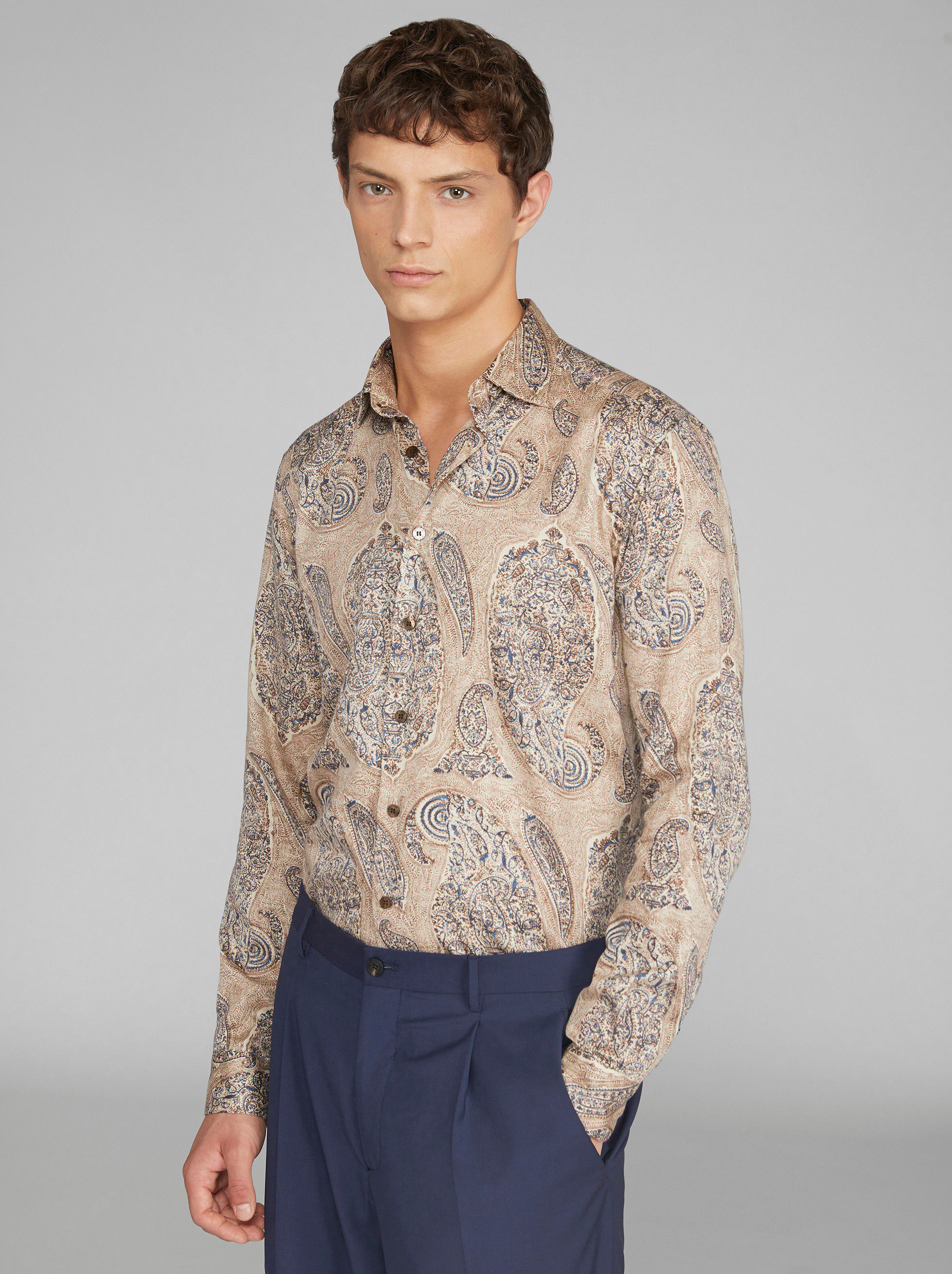 PAISLEY COTTON SHIRT
