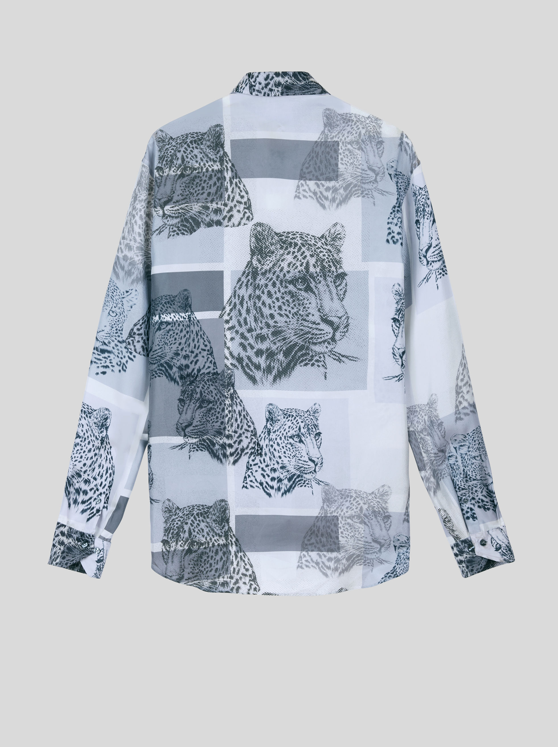 PATCHWORK SILK SHIRT