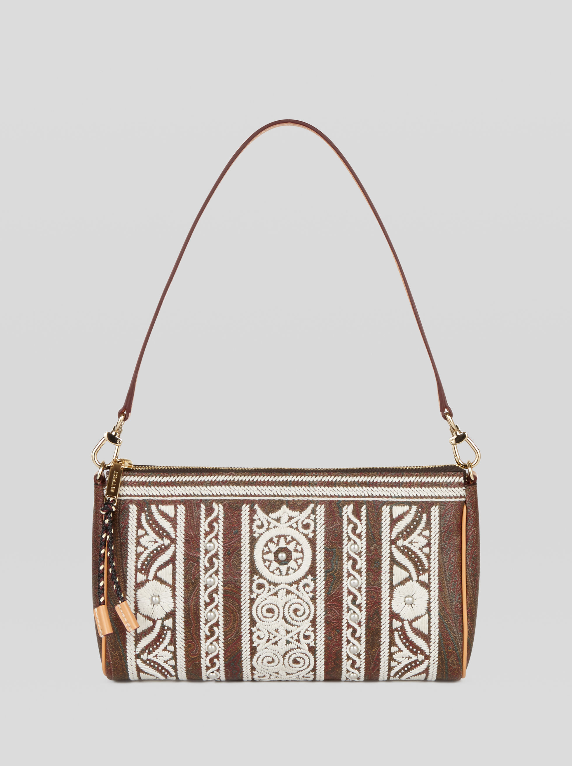 PAISLEY SHOULDER BAG WITH EMBROIDERY