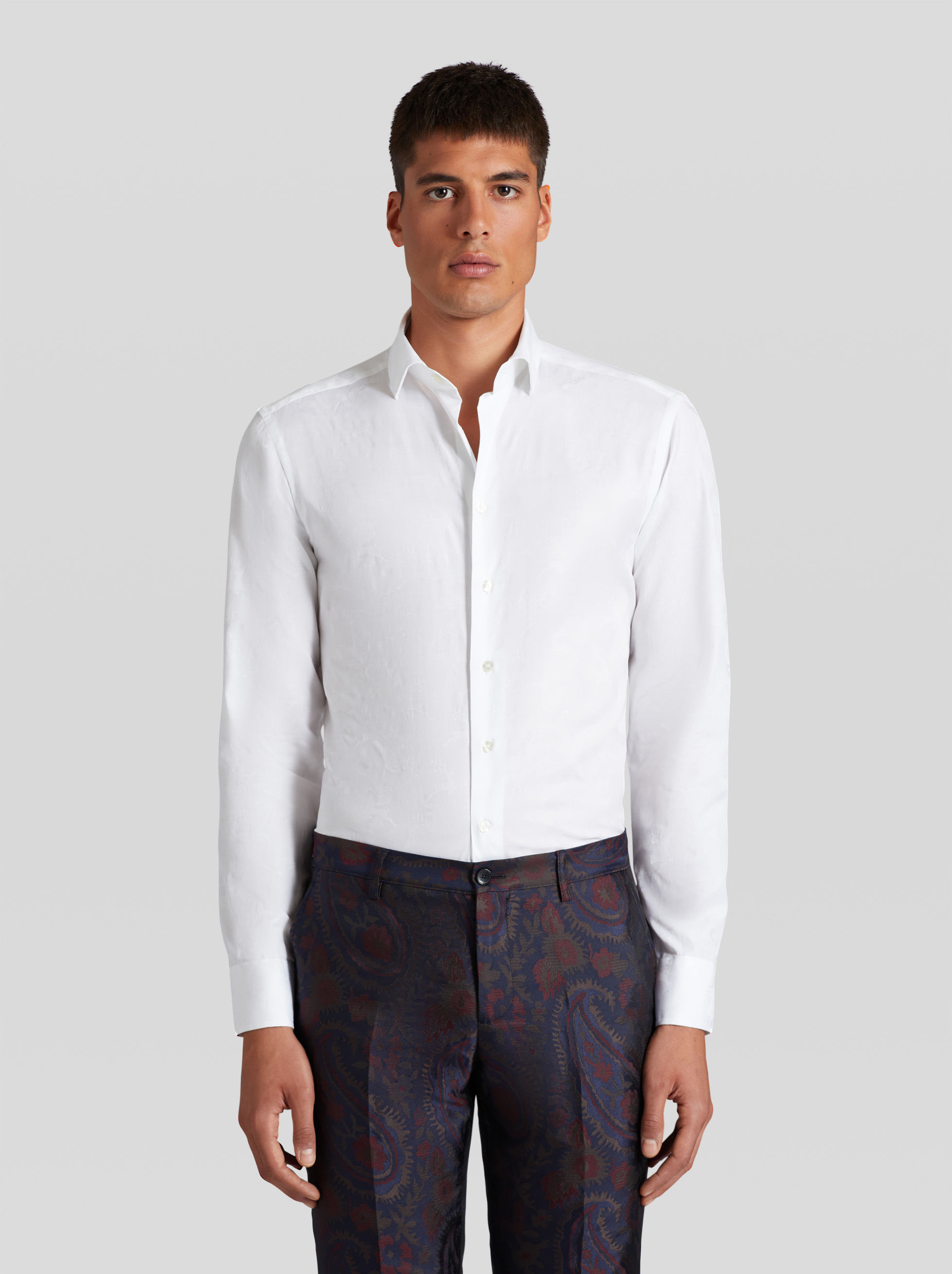 COTTON JACQUARD SHIRT