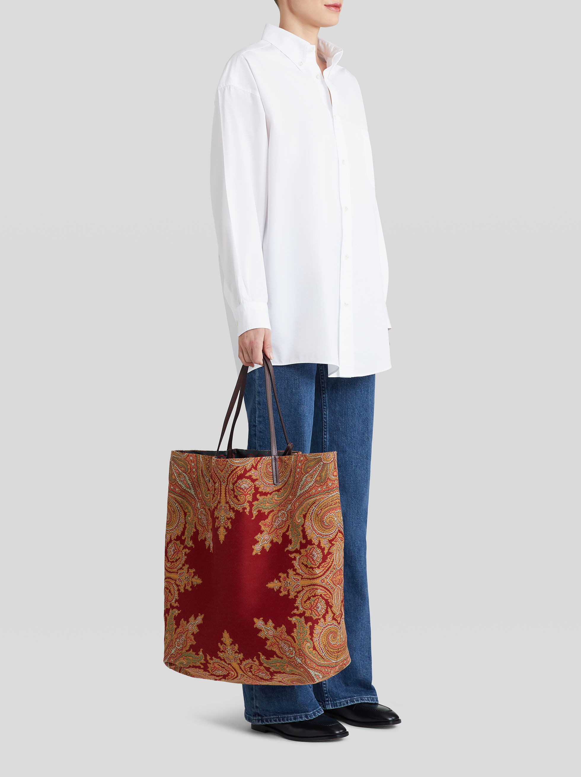 REVERSIBLE SHOPPER