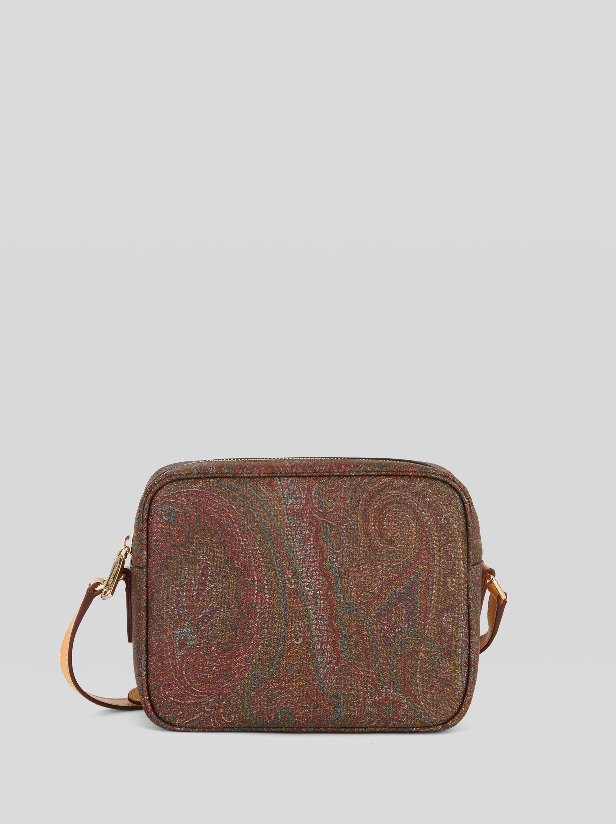 CROSSBODY BAG WITH PAISLEY MOTIFS