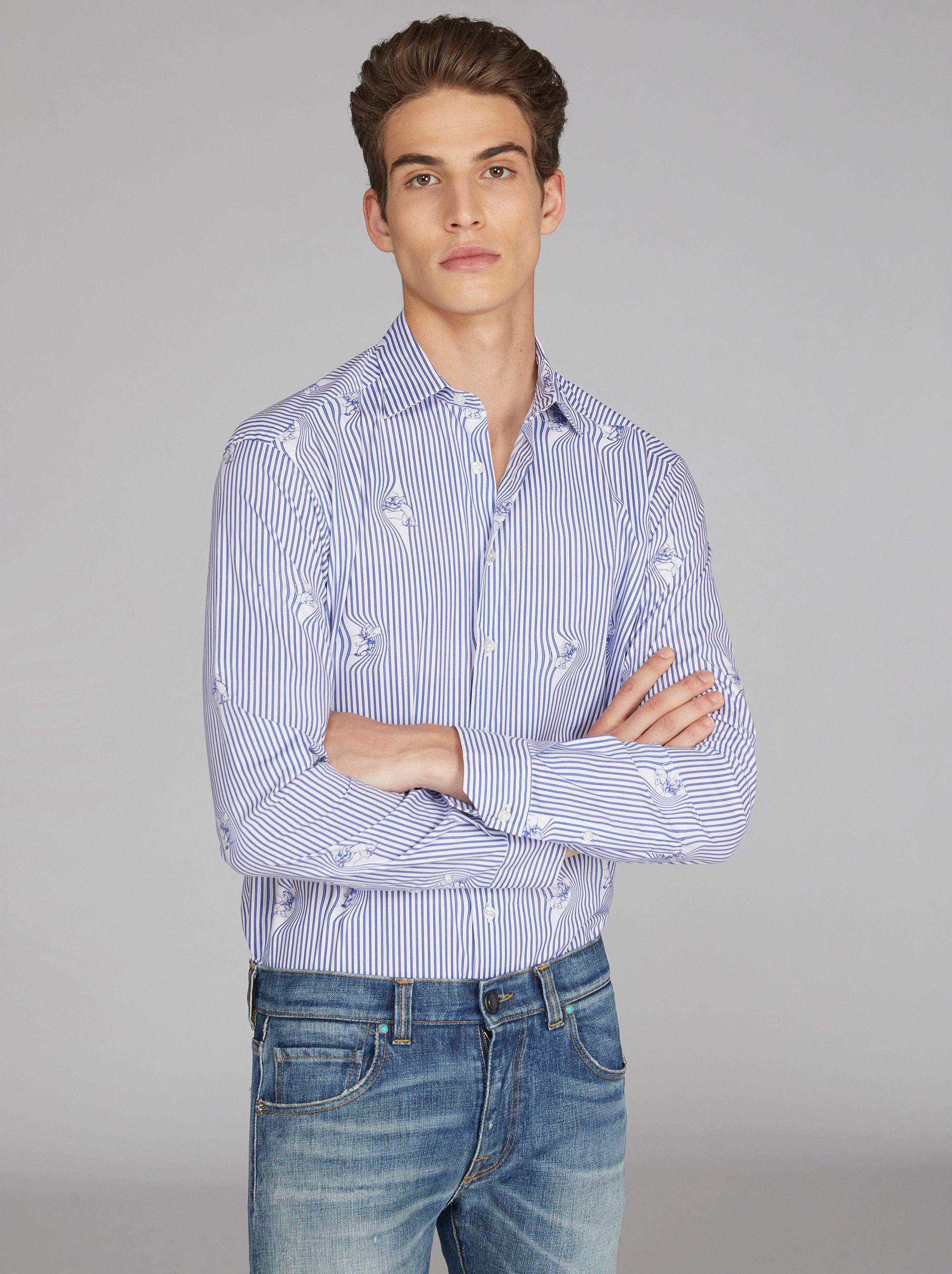 JERRY STRIPED SHIRT