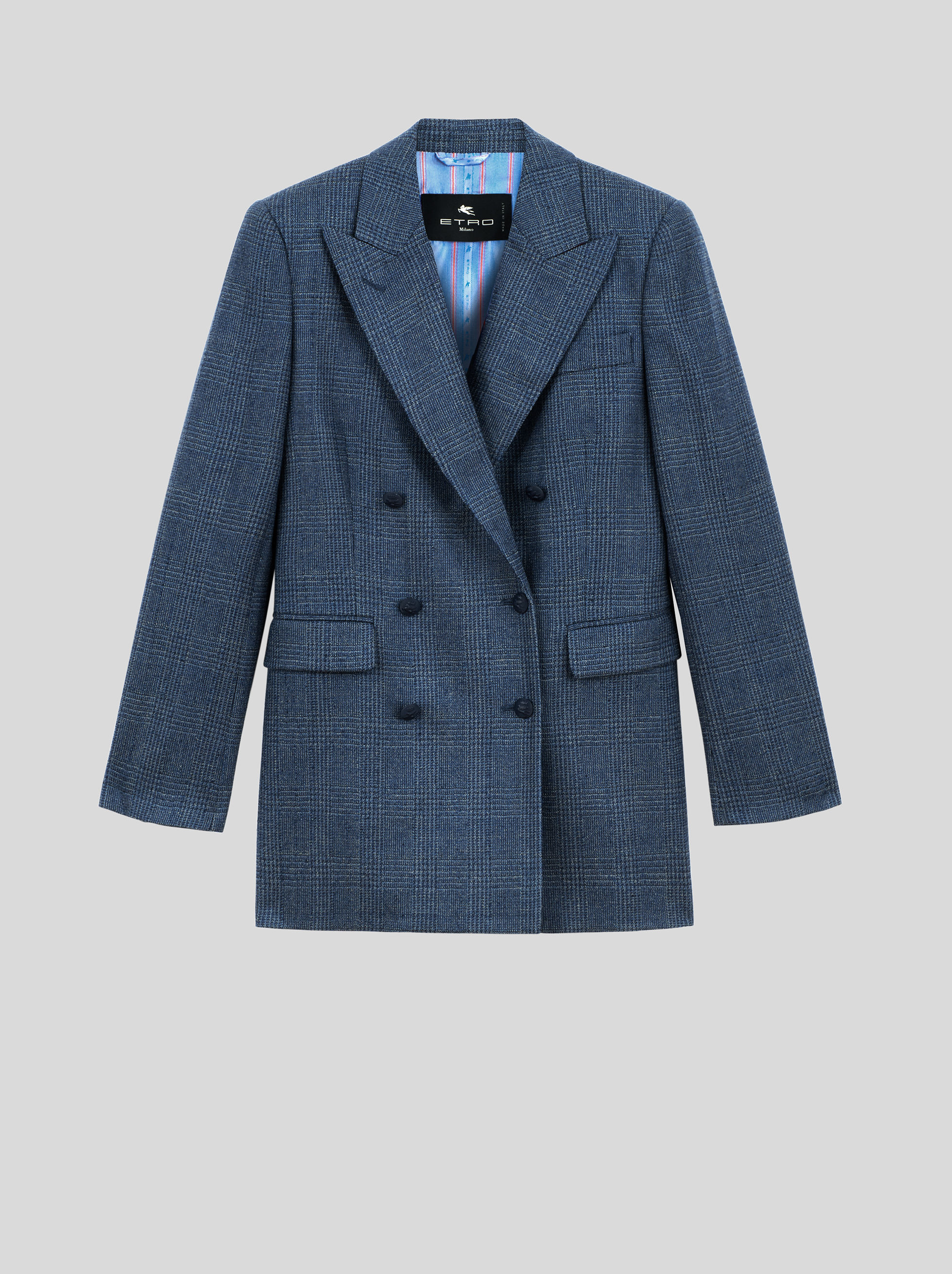 TAILORED CHECK JACKET