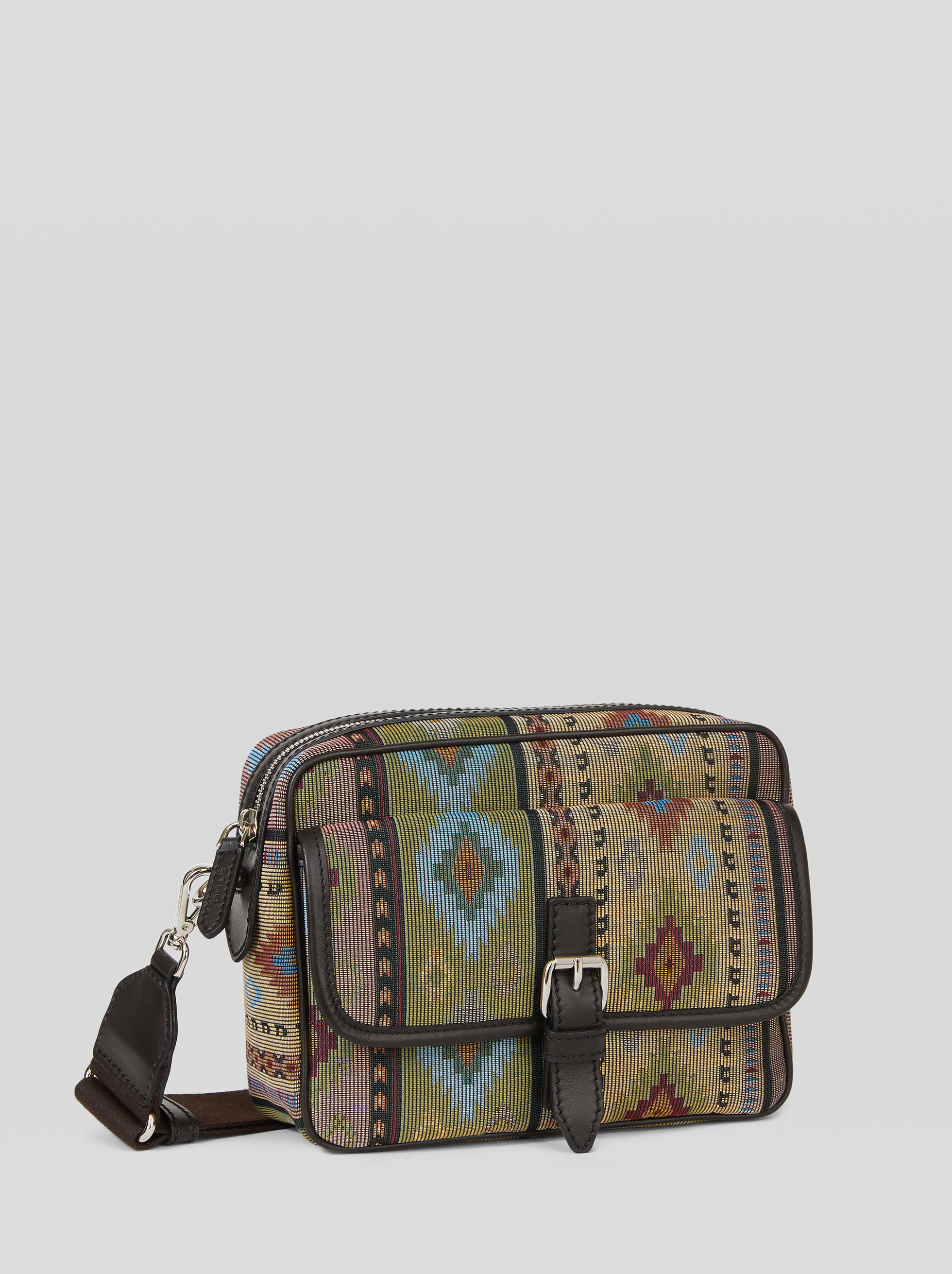CARPET PATTERN SHOULDER BAG