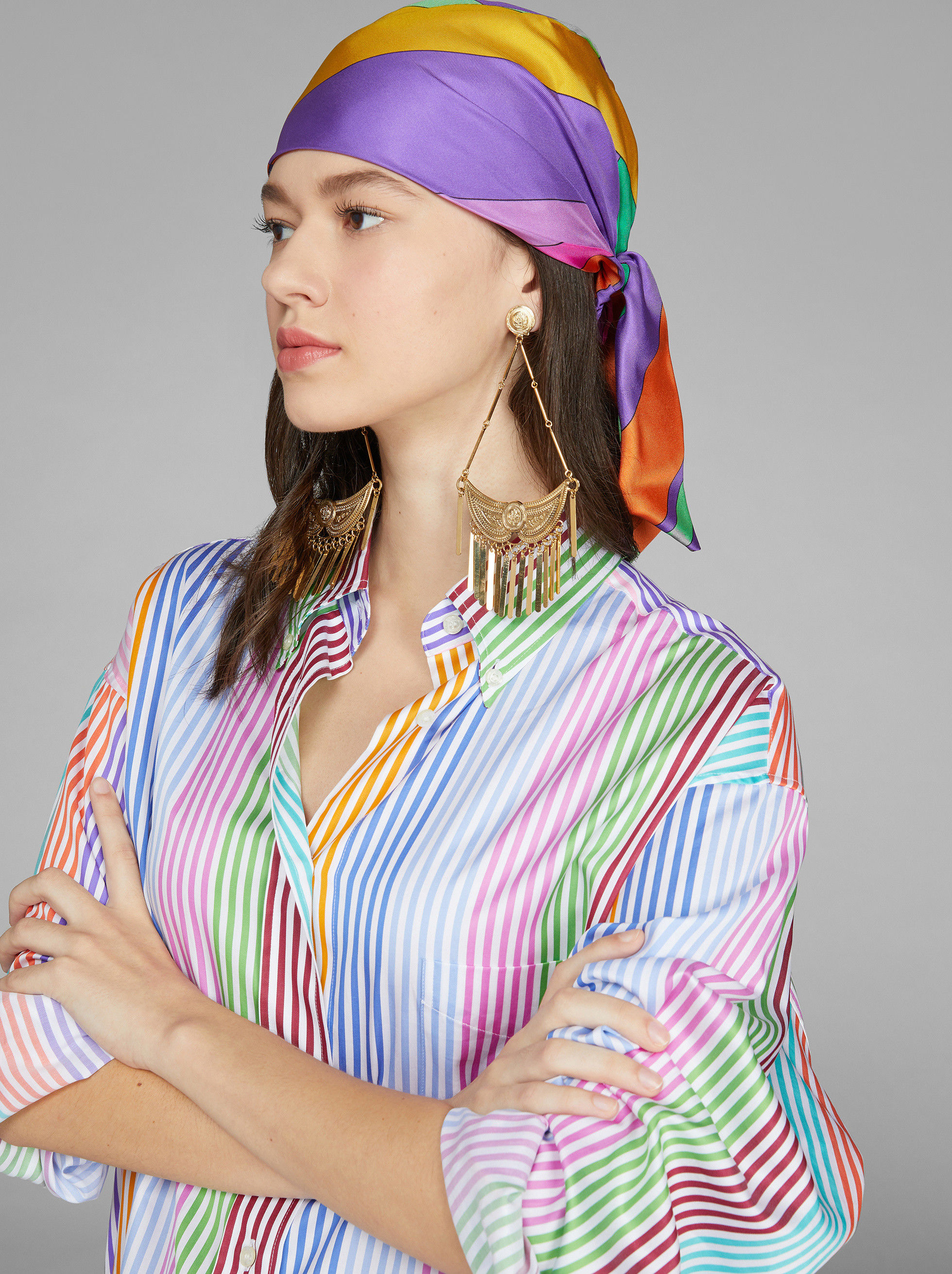 MULTI-COLOURED TURBAN