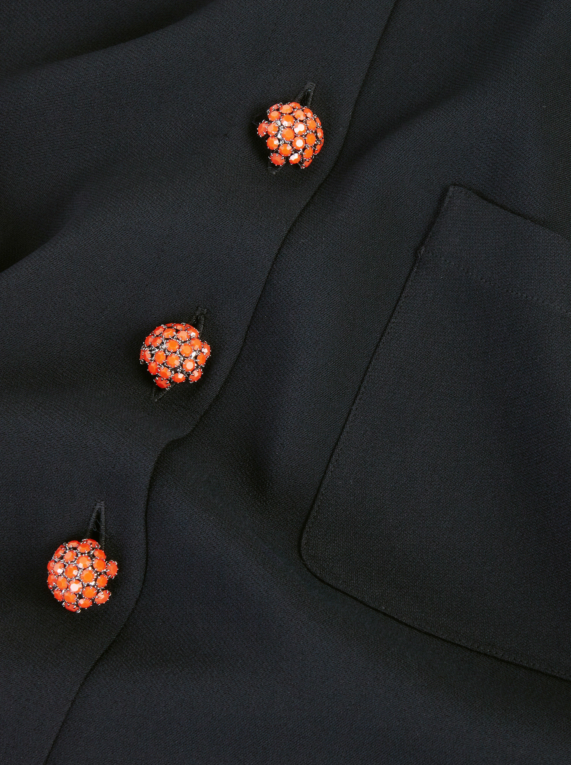 CHEMISIER WITH JEWEL BUTTONS