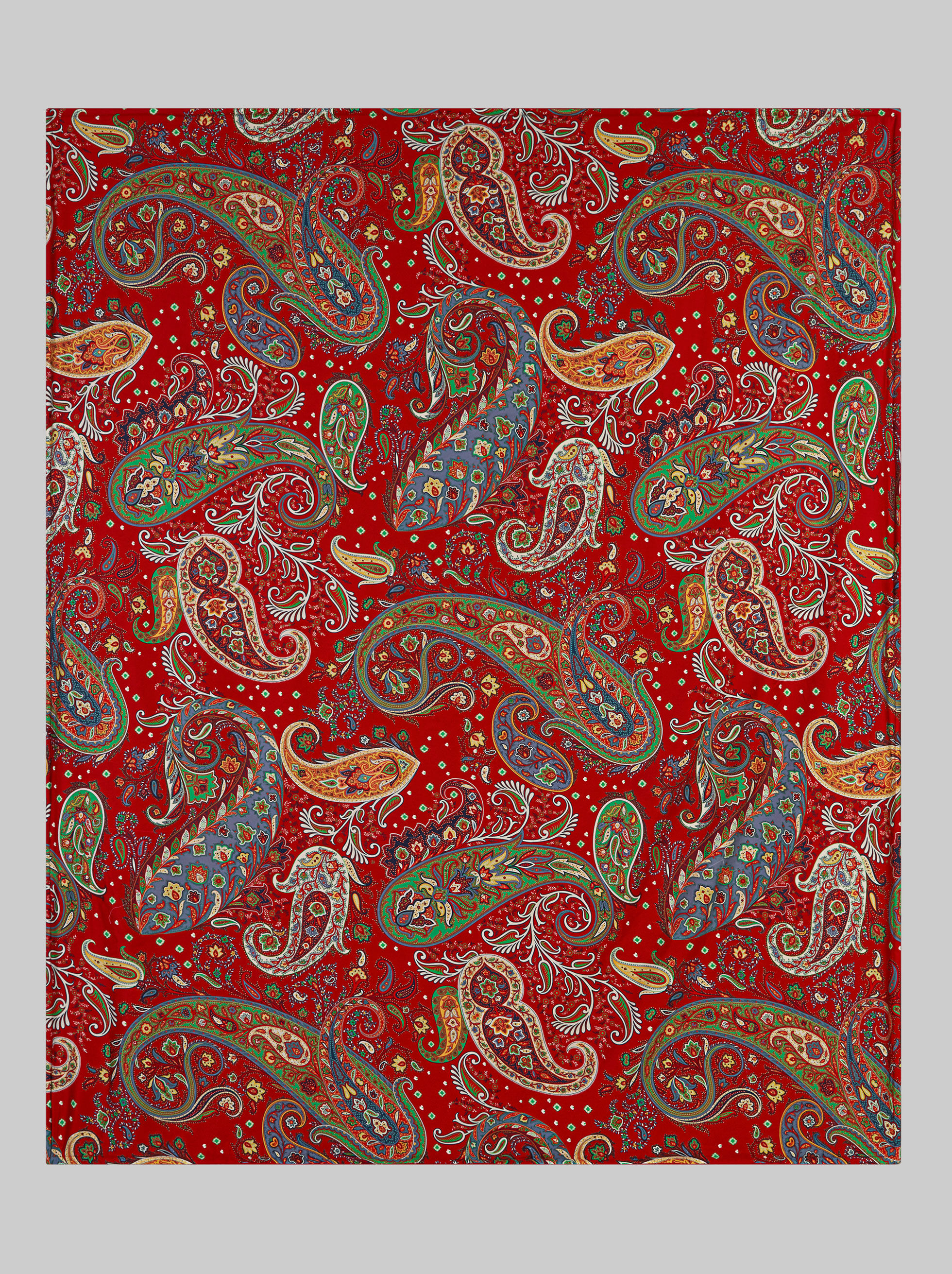 PAISLEY PRINT COTTON BEACH TOWEL