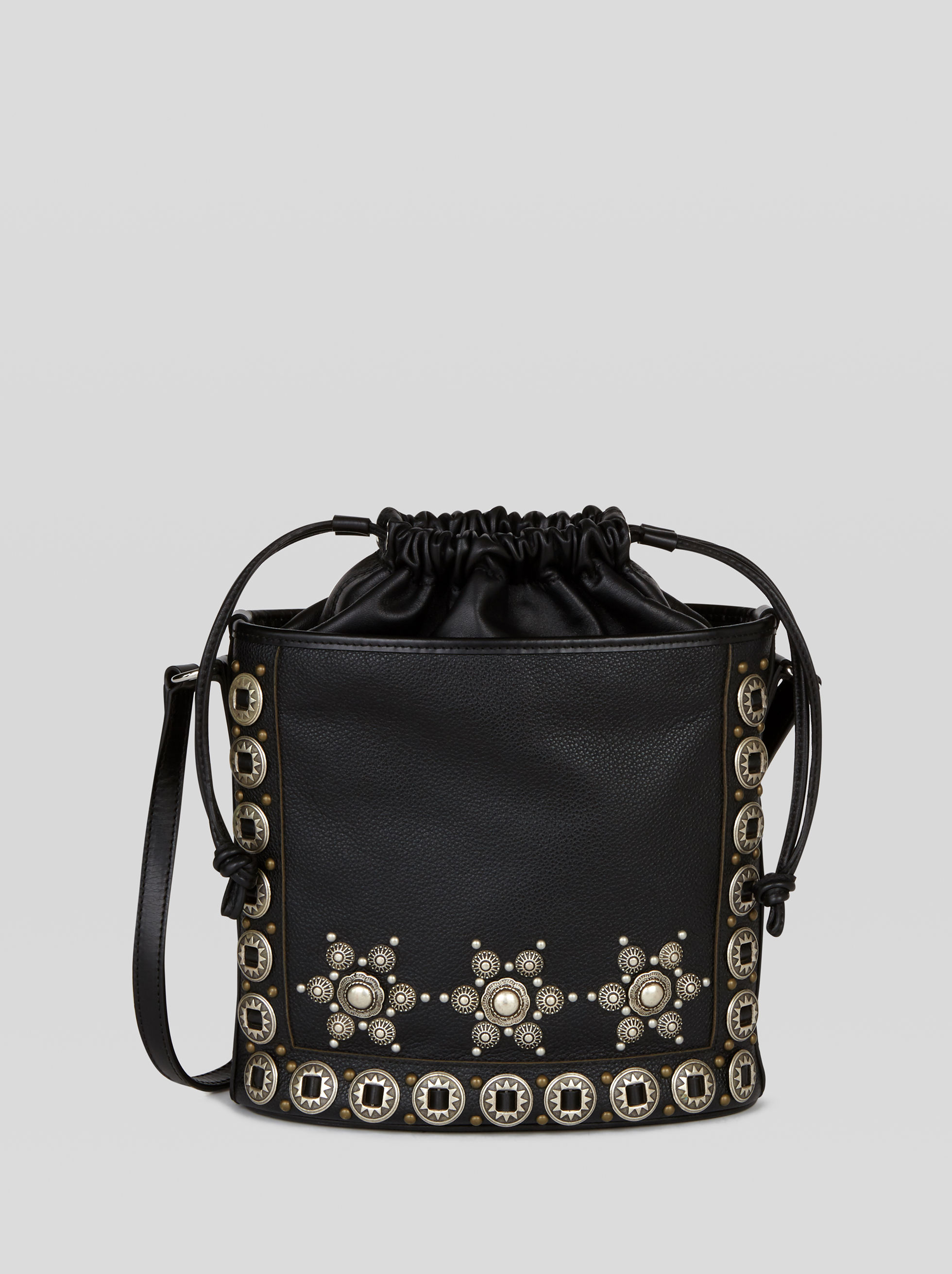 IVY BUCKET BAG WITH STUDS