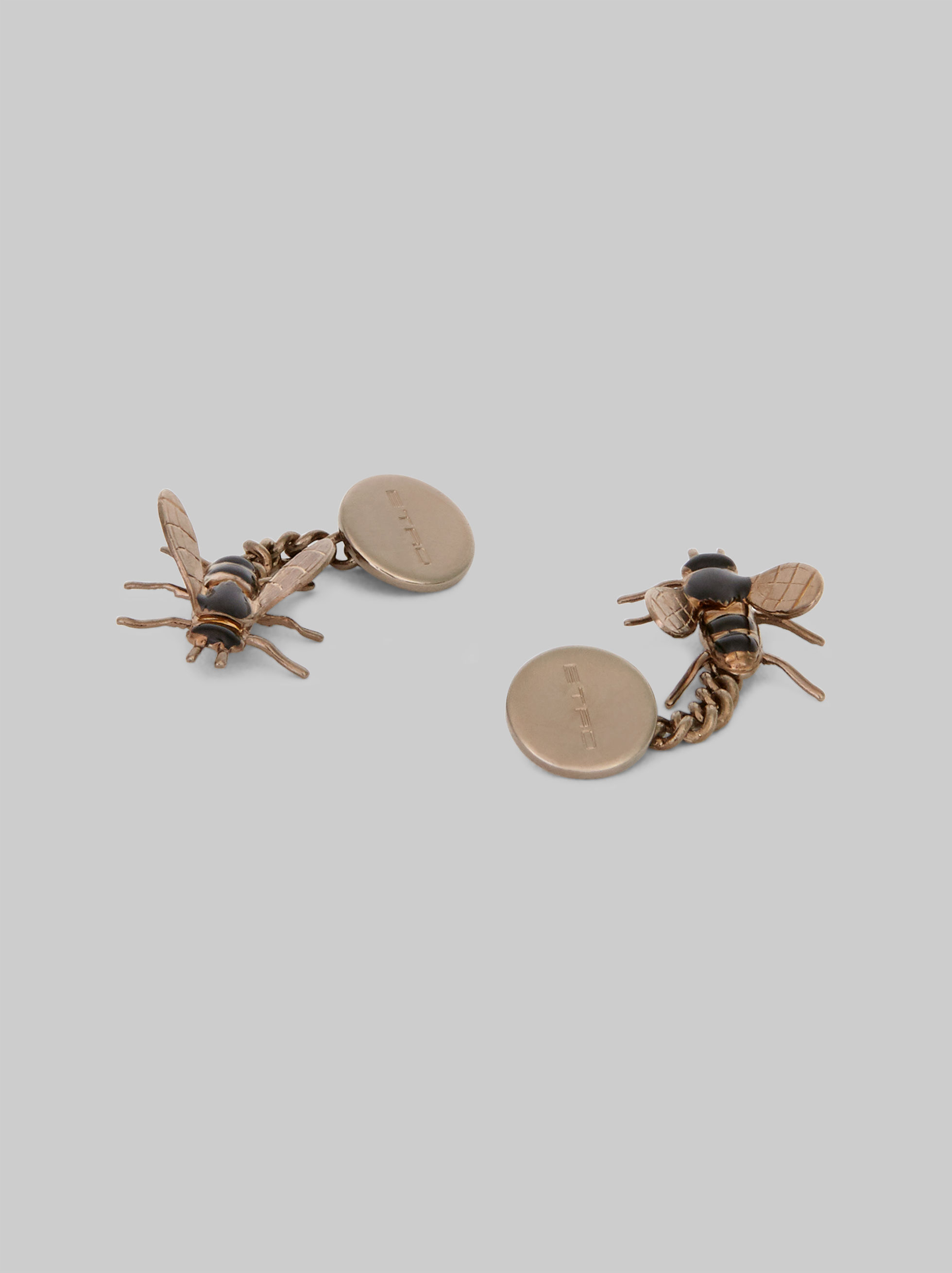 CUFFLINKS WITH BEE