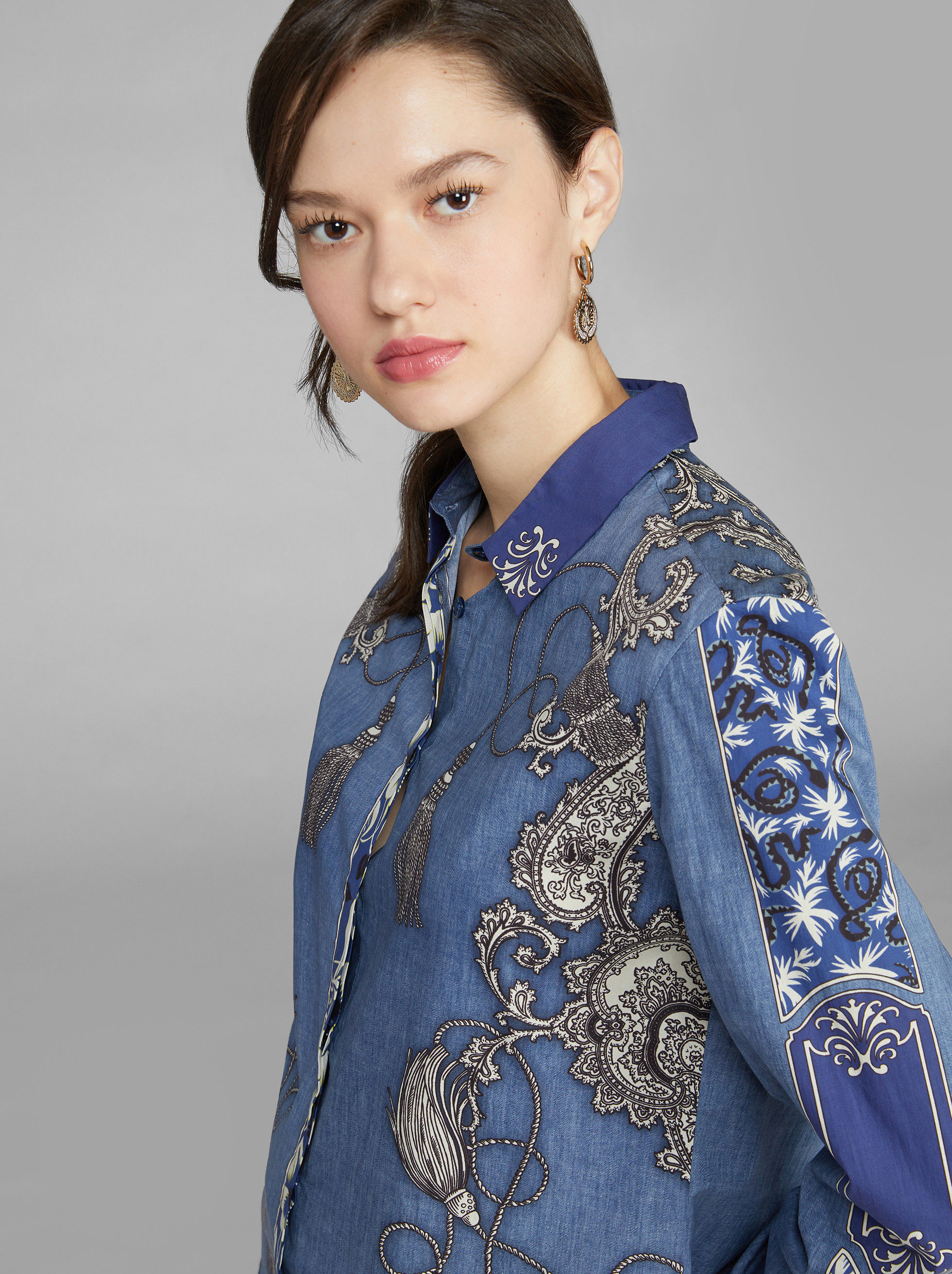BANDANA PATTERN SHIRT