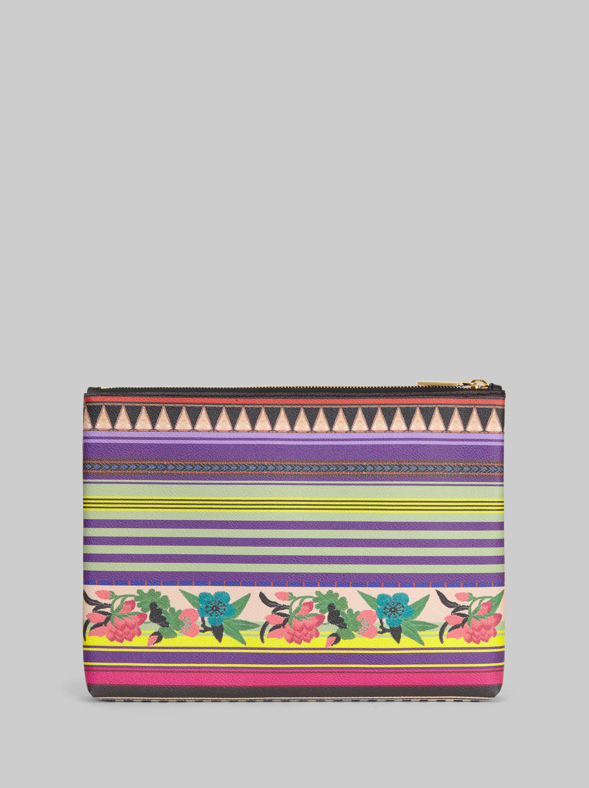 POUCH WITH FLORAL PRINT