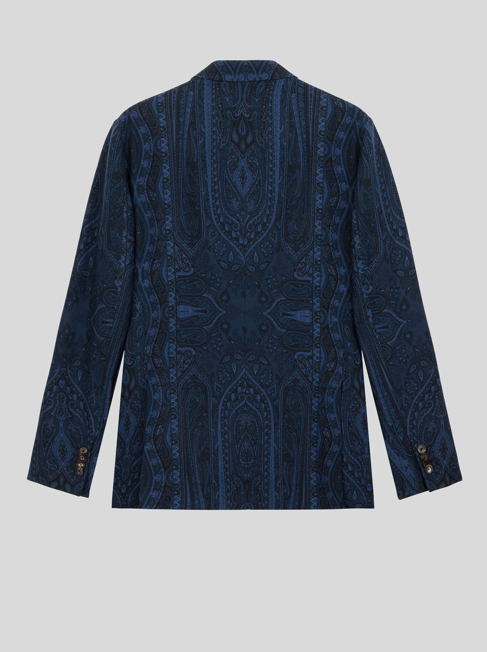 TAILORED JACKET IN PAISLEY WOOL