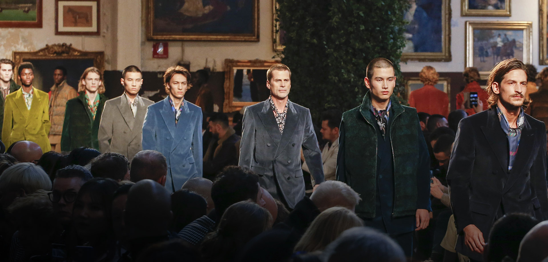 ETRO_MEN'S SPRING SUMMER 2020 FASHION SHOW